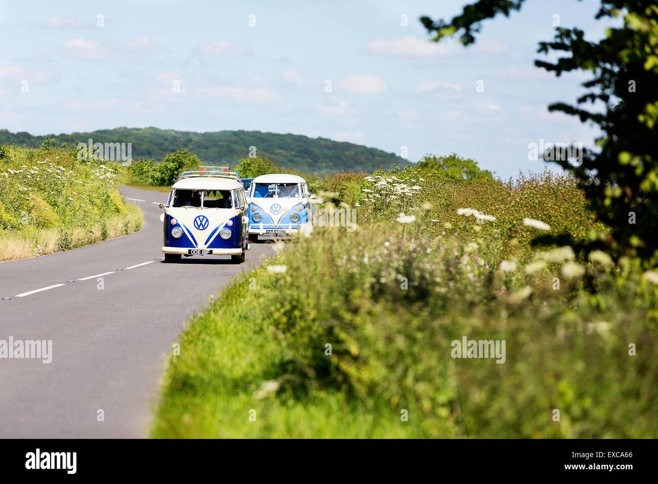 two-old-classic-1960s-vw-camper-vans-dri