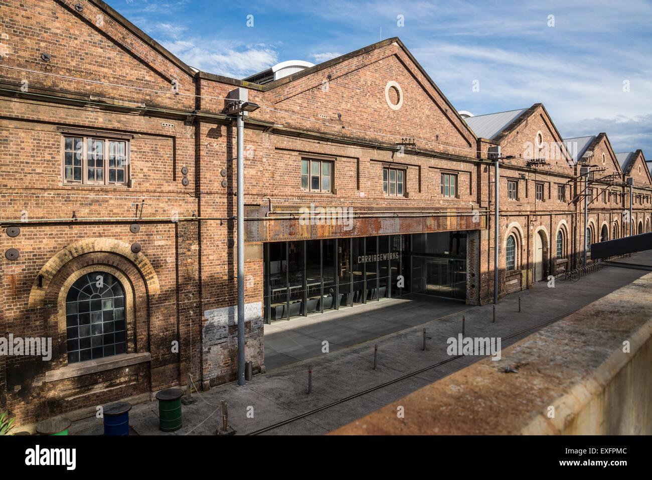 Carriageworks Arts Centre, Sydney, Australia Stock Photo