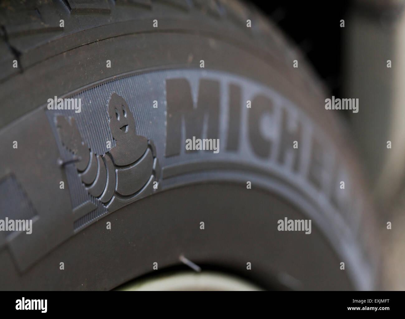 Michelin tire Stock Photo
