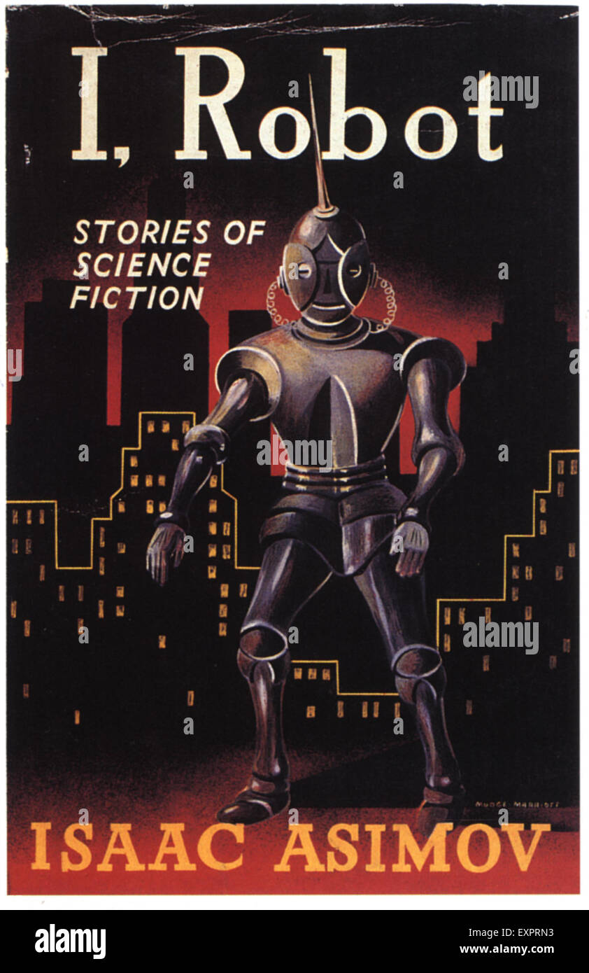 Book Cover Forros Usa ~ S usa i robot book cover stock photo alamy