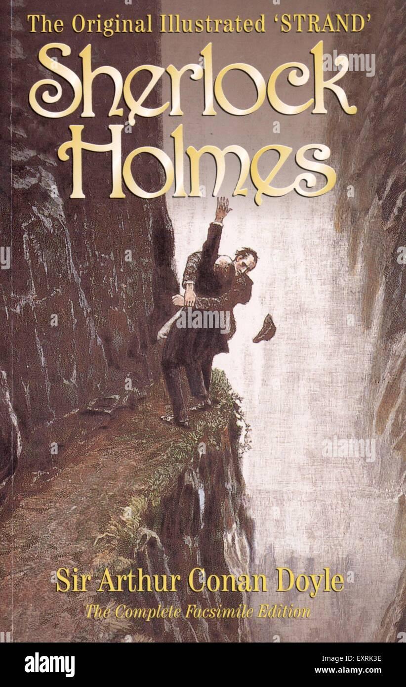 Arthur Conan Doyle Sherlock Holmes Book Hd Wallpaper