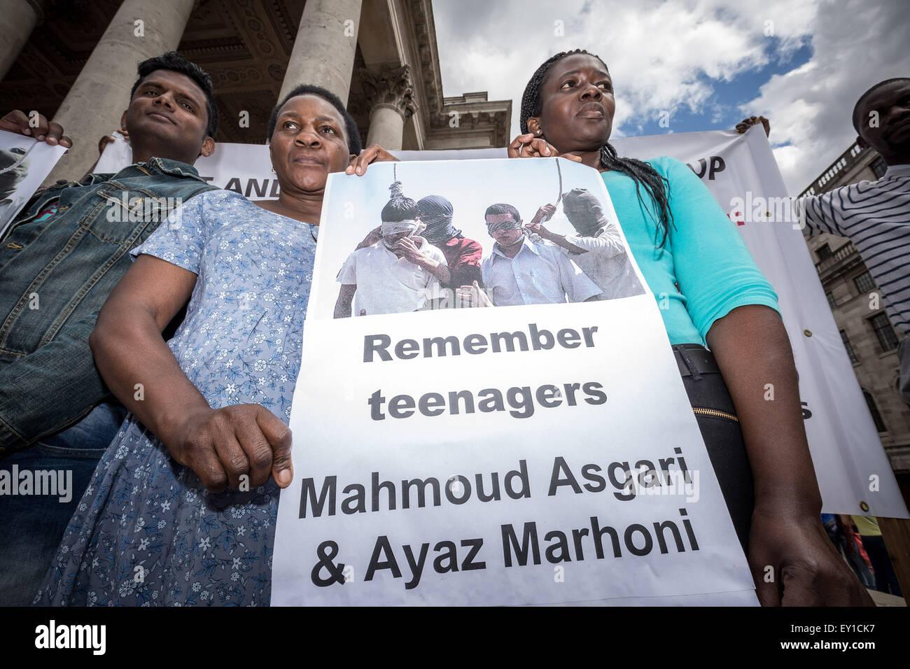 What necessary mahmoud asgari and ayaz marhoni hanged