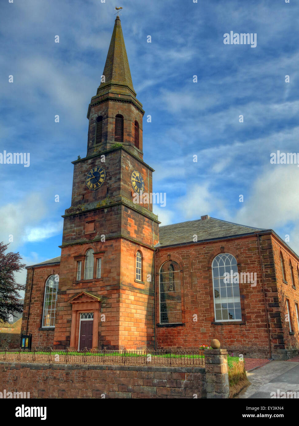 Annan,Scottish,Churches,religion,Anglican,Anglicans,tower,clock,clockface,history,historic,spire,summer,evening,morning,iconic,annandale,britain,clock,dumfriesshire,great,kingdom,old,parish,church,annan,red,sandstone,scotland,scottish,spire,tower,town,Old Parish Church,of Scotland,GoTonySmith,AD,573,–,St,Mungo,passes,through,Annandale,AD,686,–,Abbot,Adamnan,of,Iona,at,Annan,Waterfoot,AD,1148,–,St,Malachi,Bishop of Clairvaux,visits,Bruce,at,Annan.,AD,1171,–,Church,of,Annan,built,by,Robert,Bruce,near,the,site,of,the,Town,Hall.,AD,1187,–,William,Dean,of,the,Valley,of,Annan,witnesses,the,charter.,AD,1196,–,Incumbent,of,Annan,Ministers,in,plague.,AD,1223,–,Church,transferred,to,See,of,Glasgow,from,Gwsborough.,AD,1265,–,Stipend,increased,by,forty,shillings,Robert,the,rector,collects,a,hundred,shillings.,AD,1213,–,Rector,established,in,Annan,by,the,Dean,of,Glasgow,succeeding,Robert,the,Rector.,AD,1327,–,Robert,Rector,of,Annan.,AD,1335,–,Walter,Rector of Annan,translated,to,Dronnok,(Dornock),AD,1474,–,Gilbert,Maxwell,Rector,of,Annan.,AD,1487,–,William,Turnbull,Rector of An,Buy Pictures of,Buy Images Of