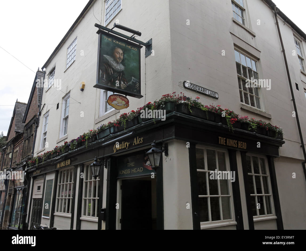 bar,bars,pubs,history,historic,English,British,the,outside,exterior,sign,pubsign,centre,ln,lane,Rosemary,Cumbria,England,UK,lake,district,CAMRA,real,ale,ales,realale,realales,Kings,10th,century,The Kings Head,Lake District,Fisher St,Fisher Street,10th Century,GoTonySmith,Buy Pictures of,Buy Images Of,Kings Head Carlisle