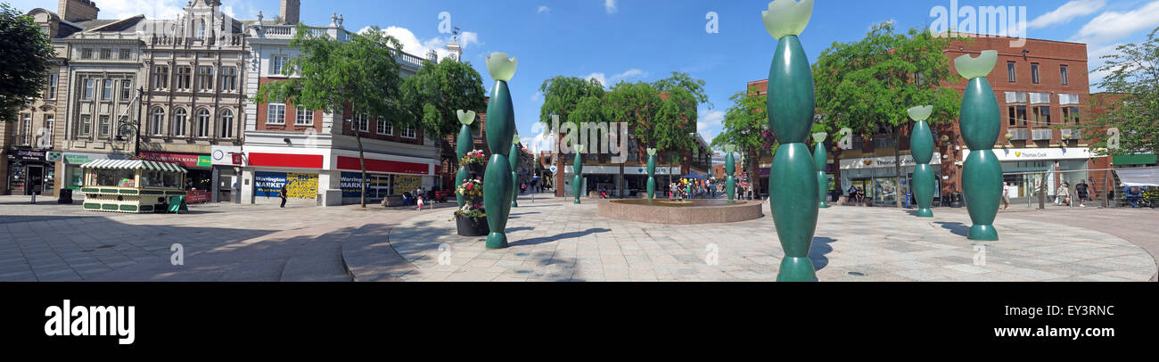 Pano,wide,shot,wideshot,angle,summer,blue,sky,people,shoppers,shop,retail,street,golden,square,Warrington,Bridge St Skittles,The Guardians panorama,Cheshire,England,UK,Guardians,WBC,borough,council,landscape,Warringtonians,Blue sky,Golden square,wide angle,GoTonySmith,Buy Pictures of,Buy Images Of