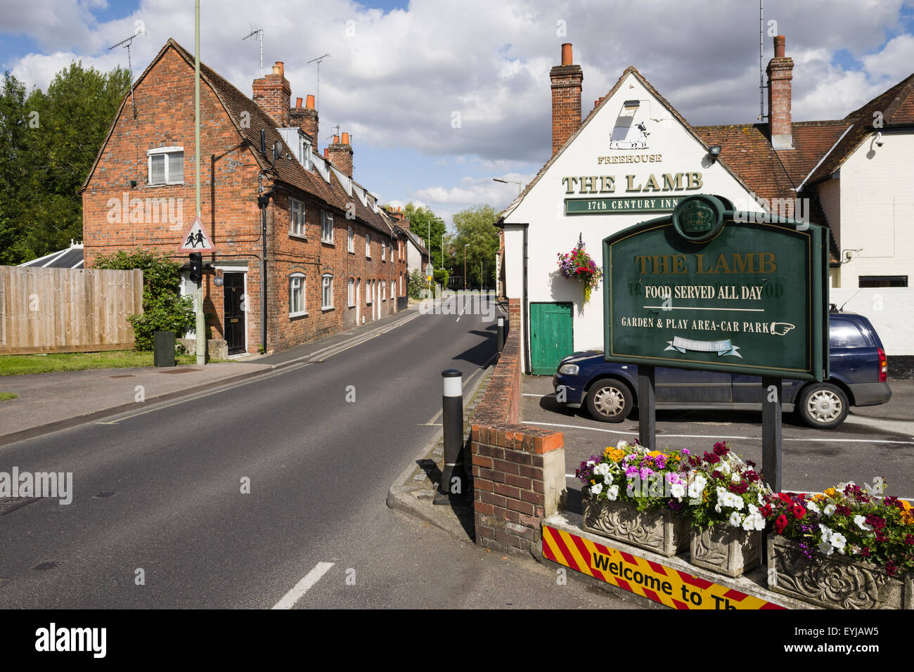 The Lamb Inn, Mill Street, Wantage,Oxon, U.K. - Stock Image