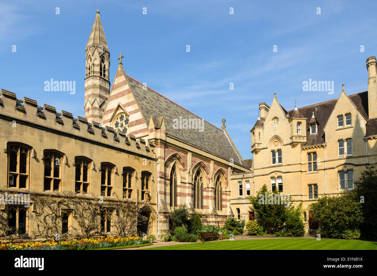 Balliol College, University of Oxford, Oxford, England, UK. - Stock Image