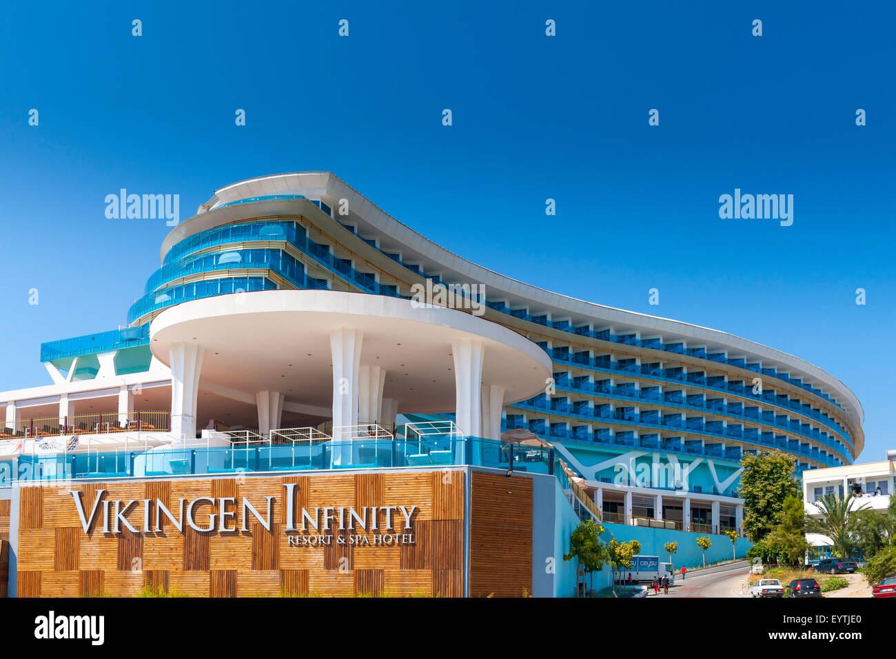 Turkey, hotel complex, Vikingen Infinity Resort & spa hotel, Alanya ...