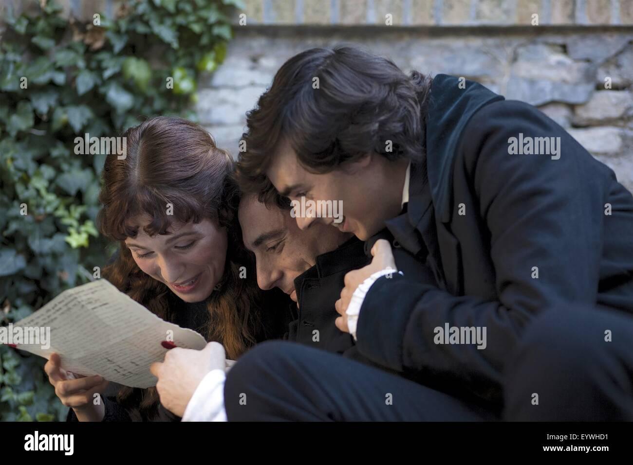 Leopardi ; Il Giovane Favoloso ; Year : 2014 Italy ; Director : Mario Martone ; Isabella Ragonese, Elio Germano, - Stock Image