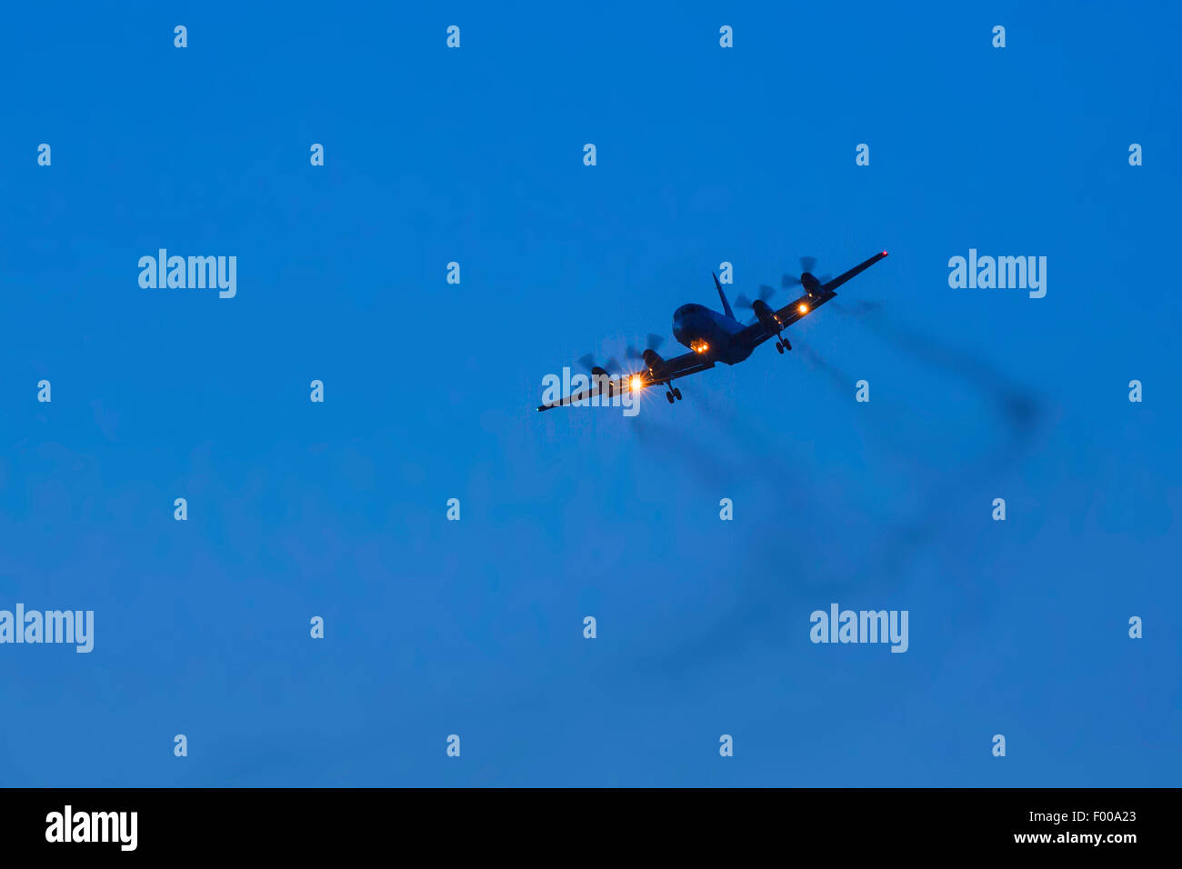 P-3C Orion maritime patrol aircraft, Norway, Vester�len, Insel And�ya - Stock Image