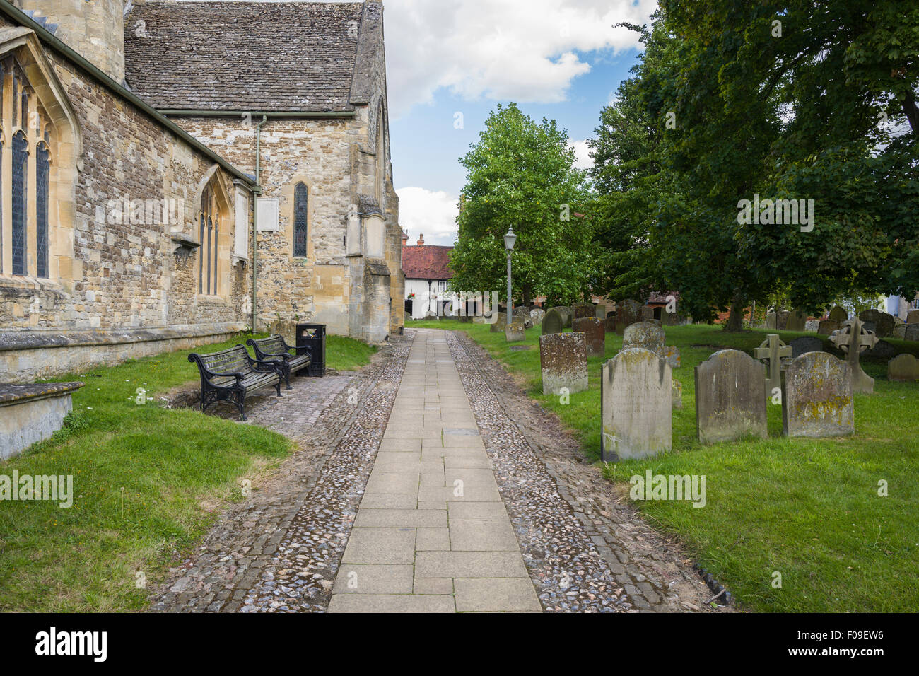 The Parish Church of St. Peter and St. Paul in Wantage, Oxfordshire,England,U.K. - Stock Image