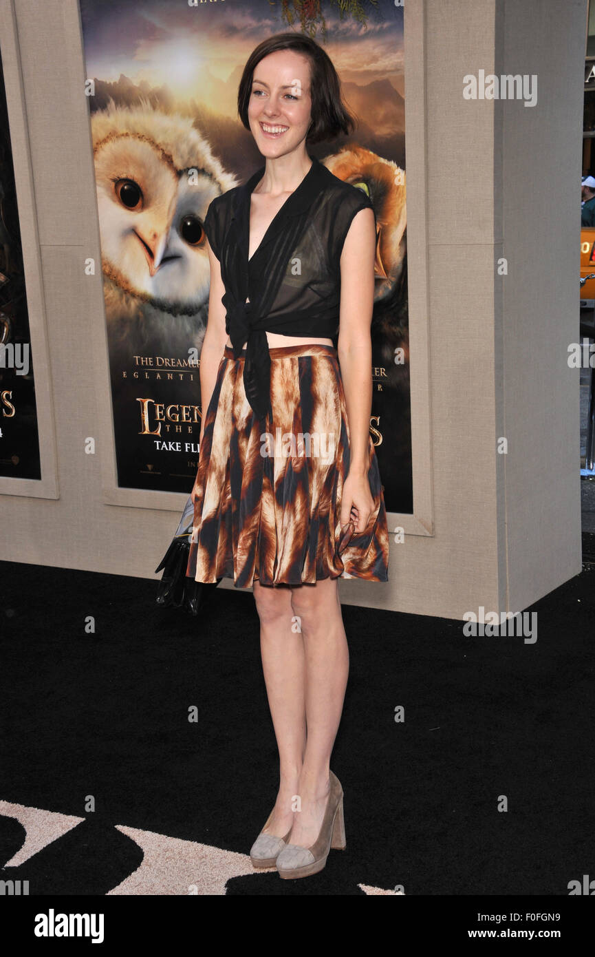 LOS ANGELES, CA - SEPTEMBER 19, 2010: Jena Malone at the world premiere of 'Legends of the Guardians: The Owls - Stock Image