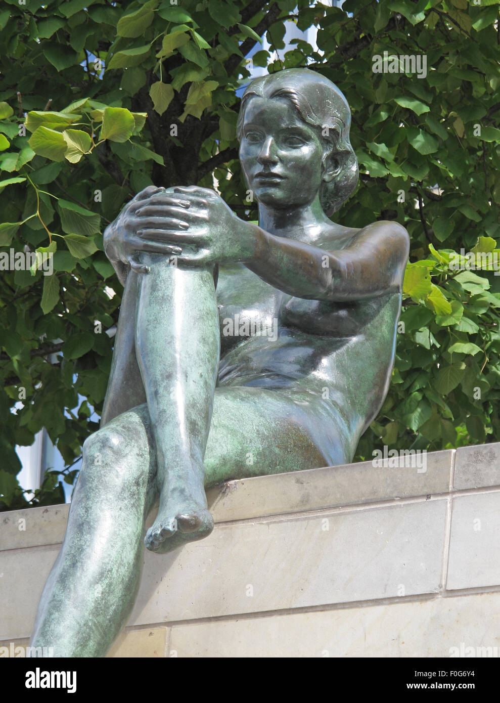 3,Statue,by,the,Spree,River,Moabit,Berlin,Germany,bronze,bank,side,of,art,artist,public,publicart,German,sculptor,DomAquarée,DomAquaree,summer,sunny,bright,city,cities,culture,side,view,recline,reclining,GoTonySmith,Buy Pictures of,Buy Images Of