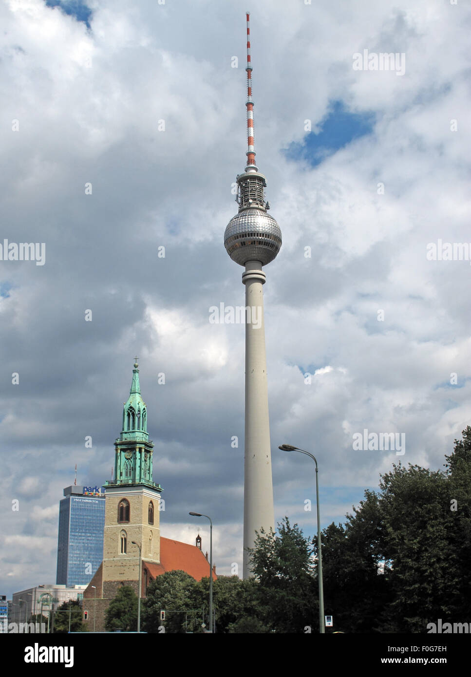 new,old,and,sky,line,skyline,Alexanderplatz,church,summer,ball,German Democratic,Republic,transmit,transmission,Marienkirche,St,saint,Marys,marys,church,architecture,bellfry,broadcast,cityscape,GDR,european,landmark,building,concrete,modern,radio,german,germany,sky,sun,sunny,television,to,GoTonySmith,Deutsche,Deutschland,Buy Pictures of,Buy Images Of