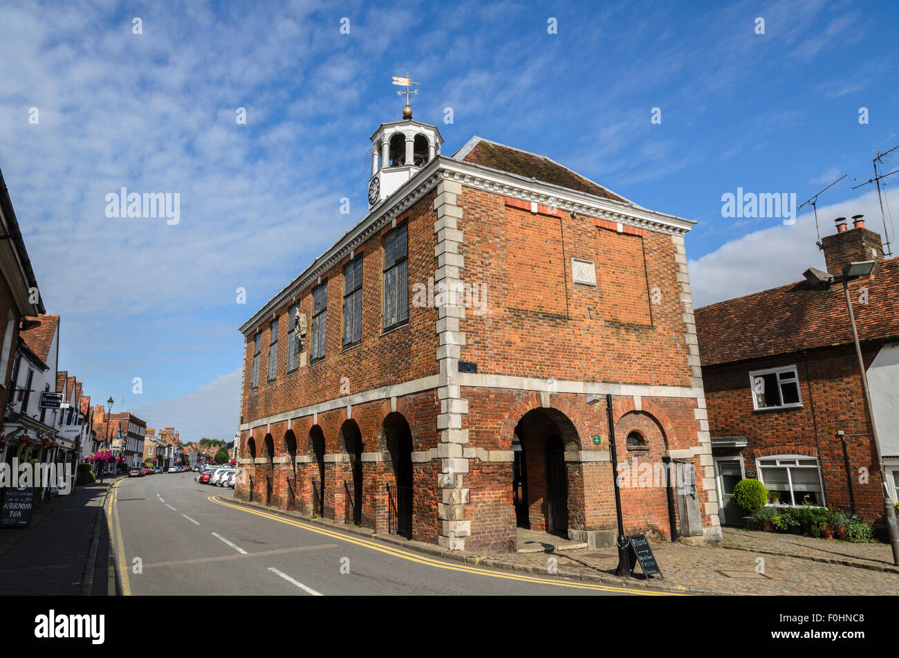 The Market Hall, Old Amersham, Buckinghamshire, England UK. - Stock Image