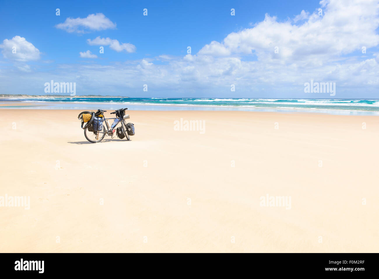 Tofo Beach, Mozambique, Africa - Stock Image
