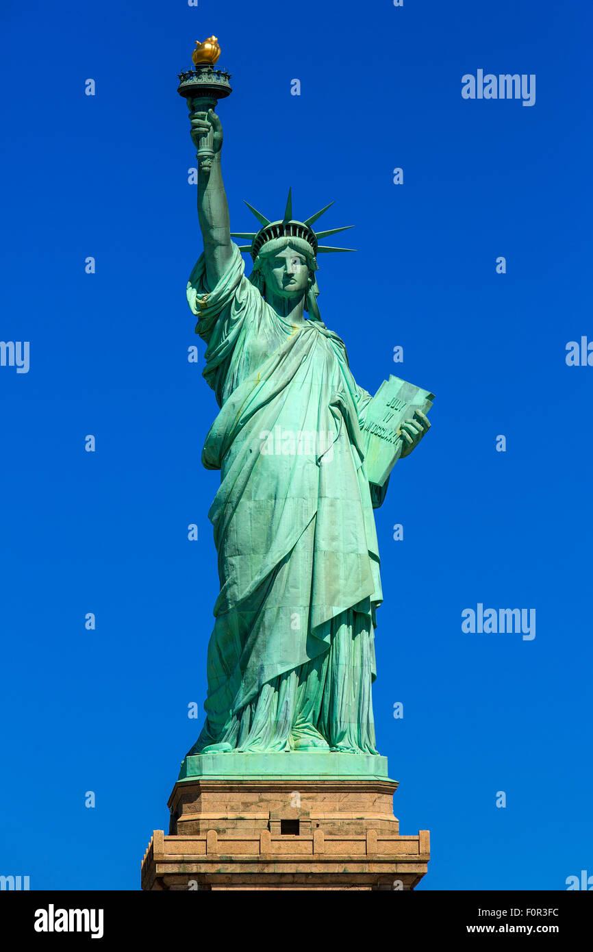 New York City, Statue of Liberty - Stock Image