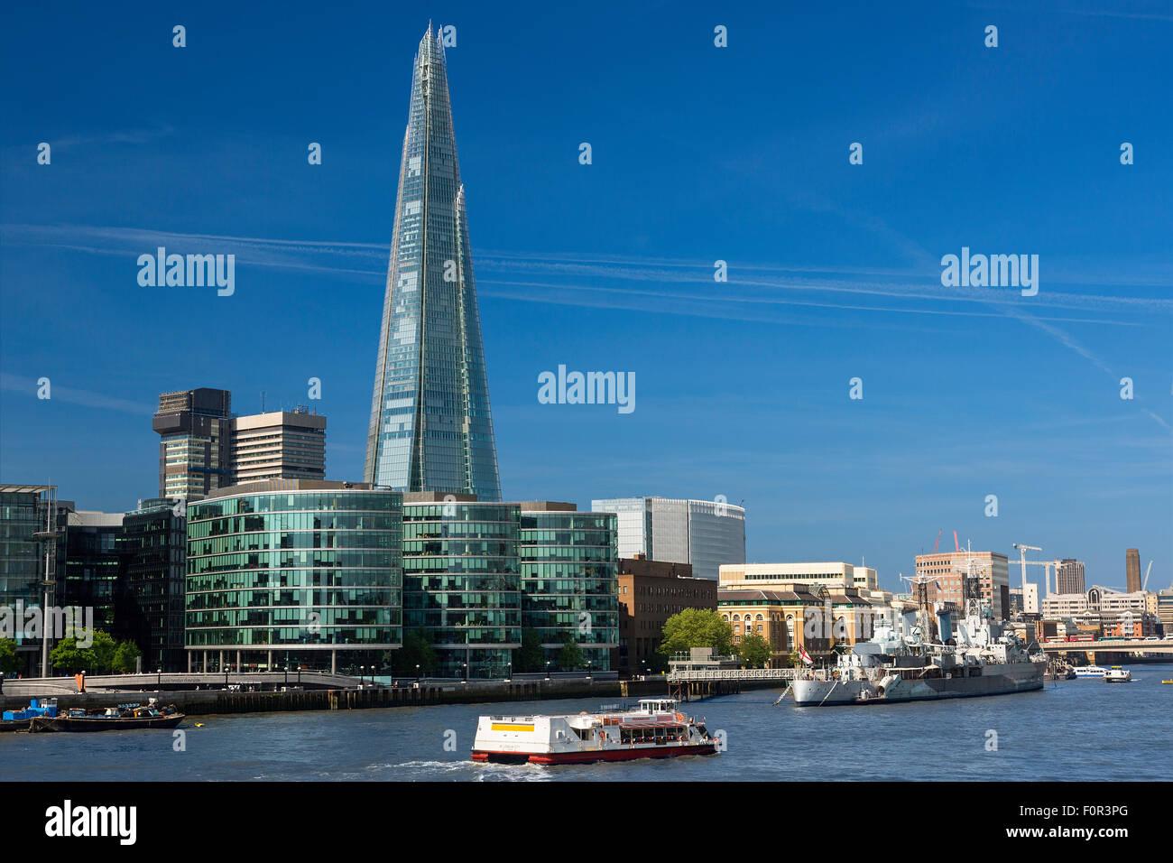 London, Shard London Bridge - Stock Image