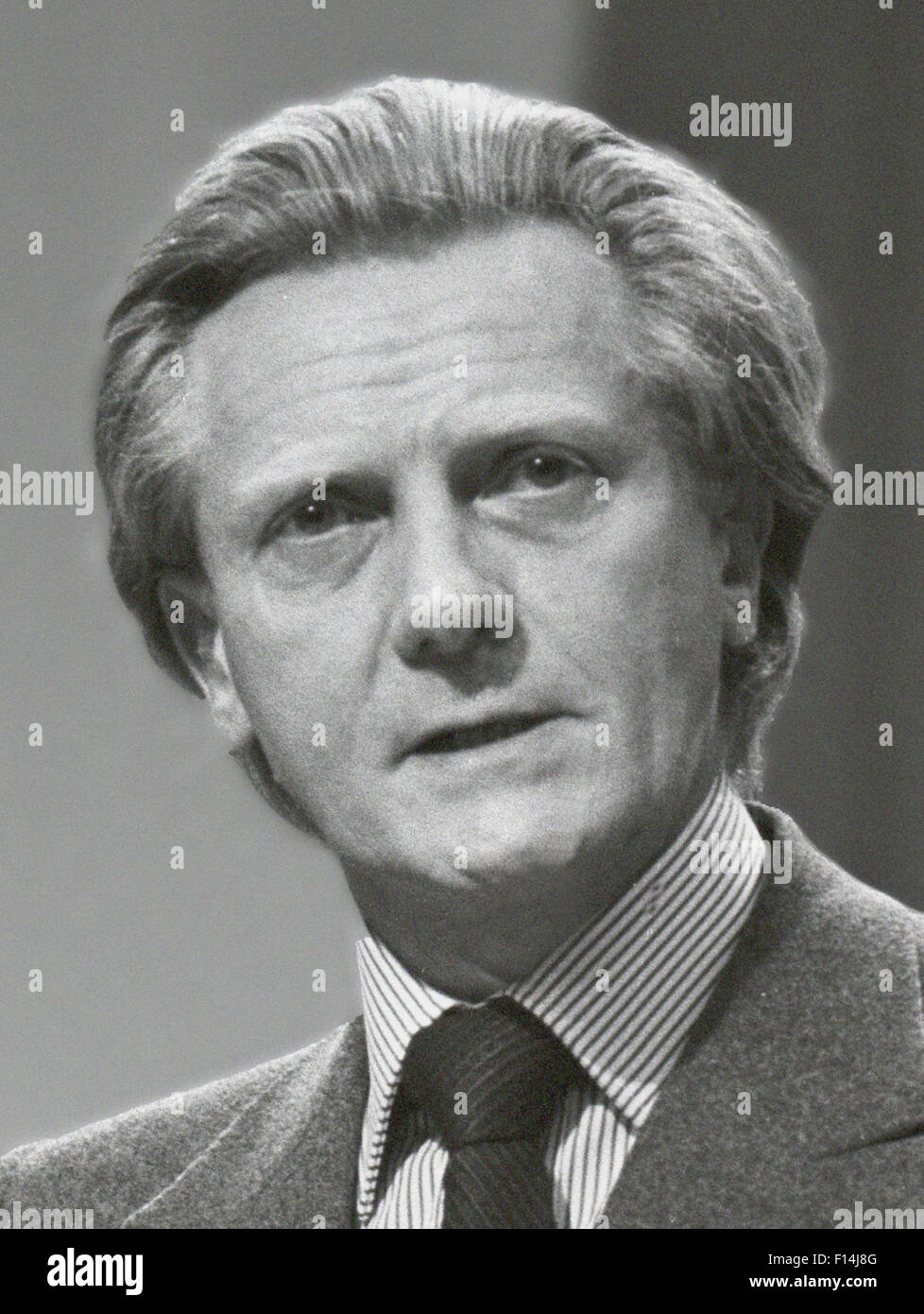 Michael Ray Dibdin Heseltine, Baron Heseltine, CH, PC (born 21 March 1933) is a British businessman, Conservative - Stock Image