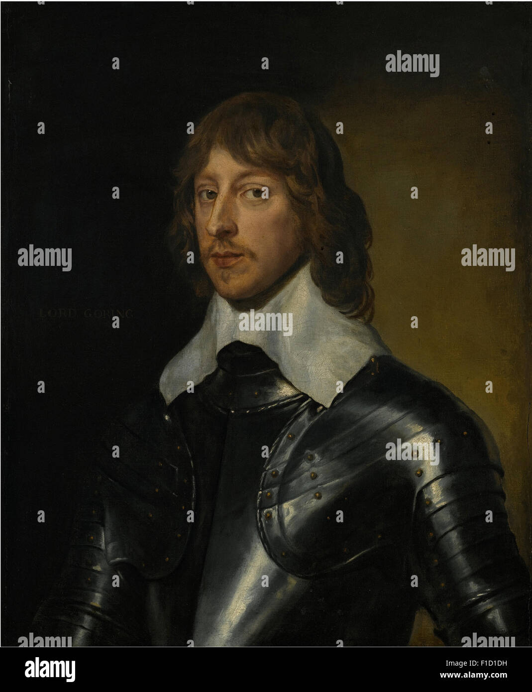 Anthony Van Dyck - Portrait of George, Baron Goring (1608 1657) - Stock Image