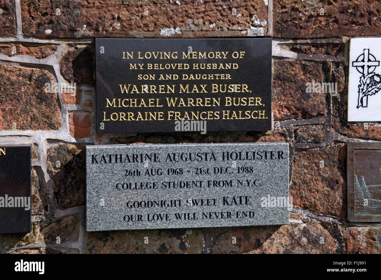 Max Buser Michael Warren lorraine Frances Halsch Katherine Augusta Hollister,Lodge,Visitors,Centre,DLVC,Trust,Lockerbie,Memorial,Remembrance,Scotland,Victims,Pan,Am,PanAm,flight,103,bomb,bombing,terrorist,December,1988,attack,crash,dead,site,21/12/1988,270,victims,Scottish,Town,New York,GoTonySmith,Lodge,Visitors,Centre,DLVC,Trust,Lockerbie,Memorial,Scotland,Victims,Pan,Am,PanAm,flight,103,bomb,bombing,terrorist,December,1988,attack,crash,dead,site,21/12/1988,270,victims,Scottish,Town,conspiracy,blast,Tundergarth,Room,garden,of,Dryfesdale,Cemetery,news,Cultural,understanding,remembering,innocent,transatlantic,Frankfurt,Detroit,Libyan,Libya,Colonel Muammar Gaddafi,civil,case,compensation,terrorism,PA103,30,30years,years,Syracuse,University,SU,family,collections,Story,Archive,Archives,40,35,Timeline,saga,disaster,air,Scholars,program,programs,remembrance,Clipper Maid of the Seas,N739PA,Boeing,727,plane,aircraft,Scotland,UK,United Kingdom,GB,Great Britain,resting,place,Buy Pictures of,Buy Images Of,New York,al megrahi,30 Years