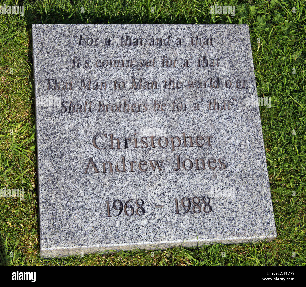 Christopher Andrew Jones,Scotland,Lodge,Visitors,Centre,DLVC,Trust,Lockerbie,Memorial,Remembrance,Scotland,Victims,Pan,Am,PanAm,flight,103,bomb,bombing,terrorist,December,1988,attack,crash,dead,site,21/12/1988,270,victims,Scottish,Town,conspiracy,blast,Tundergarth,Room,garden,of,New York,GoTonySmith,Lodge,Visitors,Centre,DLVC,Trust,Lockerbie,Memorial,Scotland,Victims,Pan,Am,PanAm,flight,103,bomb,bombing,terrorist,December,1988,attack,crash,dead,site,21/12/1988,270,victims,Scottish,Town,conspiracy,blast,Tundergarth,Room,garden,of,Dryfesdale,Cemetery,news,Cultural,understanding,remembering,innocent,transatlantic,Frankfurt,Detroit,Libyan,Libya,Colonel Muammar Gaddafi,civil,case,compensation,terrorism,PA103,30,30years,years,Syracuse,University,SU,family,collections,Story,Archive,Archives,40,35,Timeline,saga,disaster,air,Scholars,program,programs,remembrance,Clipper Maid of the Seas,N739PA,Boeing,727,plane,aircraft,Scotland,UK,United Kingdom,GB,Great Britain,resting,place,Buy Pictures of,Buy Images Of,New York,al megrahi,30 Years