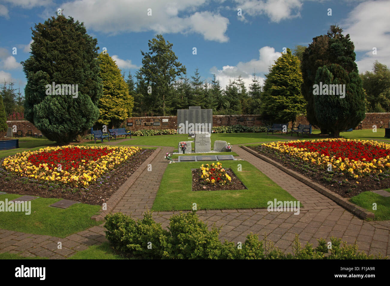 pano,panorama,wide shot,Scotland,Lodge,Visitors,Centre,DLVC,Trust,Lockerbie,Memorial,Remembrance,Scotland,Victims,Pan,Am,PanAm,flight,103,bomb,bombing,terrorist,December,1988,attack,crash,dead,site,21/12/1988,270,victims,Scottish,Town,conspiracy,blast,Tundergarth,Room,garden,of,Dryfesdal,New York,GoTonySmith,Lodge,Visitors,Centre,DLVC,Trust,Lockerbie,Memorial,Scotland,Victims,Pan,Am,PanAm,flight,103,bomb,bombing,terrorist,December,1988,attack,crash,dead,site,21/12/1988,270,victims,Scottish,Town,conspiracy,blast,Tundergarth,Room,garden,of,Dryfesdale,Cemetery,news,Cultural,understanding,remembering,innocent,transatlantic,Frankfurt,Detroit,Libyan,Libya,Colonel Muammar Gaddafi,civil,case,compensation,terrorism,PA103,30,30years,years,Syracuse,University,SU,family,collections,Story,Archive,Archives,40,35,Timeline,saga,disaster,air,Scholars,program,programs,remembrance,Clipper Maid of the Seas,N739PA,Boeing,727,plane,aircraft,Scotland,UK,United Kingdom,GB,Great Britain,resting,place,Buy Pictures of,Buy Images Of,New York,al megrahi,30 Years