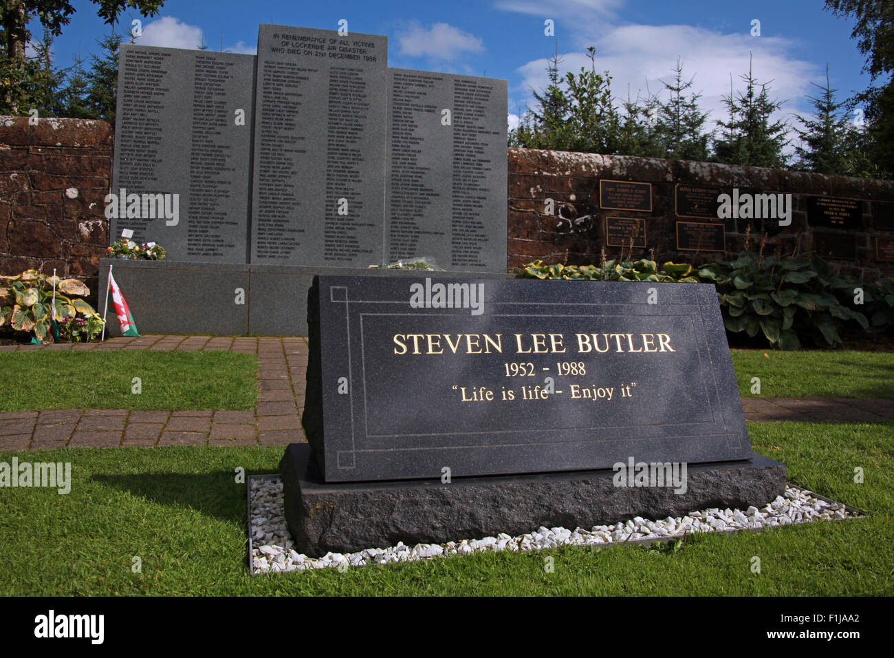 Steven Lee Butler - Life Is Life Enjoy It,Scotland,Lodge,Visitors,Centre,DLVC,Trust,Lockerbie,Memorial,Scotland,Victims,Pan,Am,PanAm,flight,103,bomb,bombing,terrorist,December,1988,attack,crash,dead,site,21/12/1988,270,victims,Scottish,Town,conspiracy,blast,Tundergarth,Room,garden,of,New York,GoTonySmith,Lodge,Visitors,Centre,DLVC,Trust,Lockerbie,Memorial,Scotland,Victims,Pan,Am,PanAm,flight,103,bomb,bombing,terrorist,December,1988,attack,crash,dead,site,21/12/1988,270,victims,Scottish,Town,conspiracy,blast,Tundergarth,Room,garden,of,Dryfesdale,Cemetery,news,Cultural,understanding,remembering,innocent,transatlantic,Frankfurt,Detroit,Libyan,Libya,Colonel Muammar Gaddafi,civil,case,compensation,terrorism,PA103,30,30years,years,Syracuse,University,SU,family,collections,Story,Archive,Archives,40,35,Timeline,saga,disaster,air,Scholars,program,programs,remembrance,Clipper Maid of the Seas,N739PA,Boeing,727,plane,aircraft,Scotland,UK,United Kingdom,GB,Great Britain,resting,place,Buy Pictures of,Buy Images Of,New York,al megrahi,30 Years
