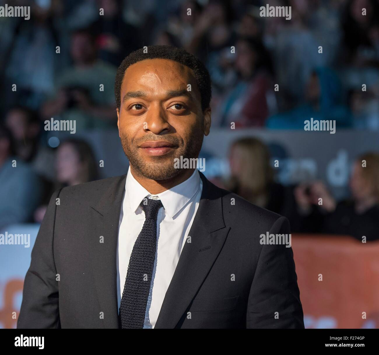Actor Chiwetel Ejiofor attends the world premiere for The Martian at the Toronto International Film Festival at - Stock Image