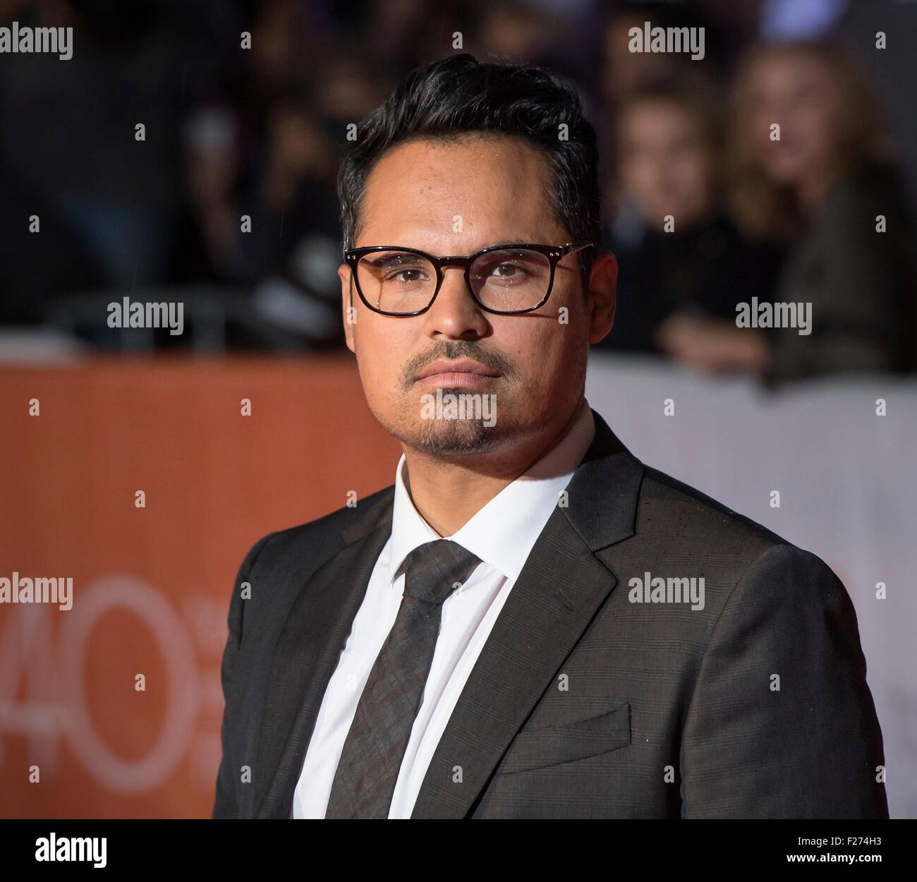 Actor Michael Pena attends the world premiere for The Martian at the Toronto International Film Festival at the - Stock Image
