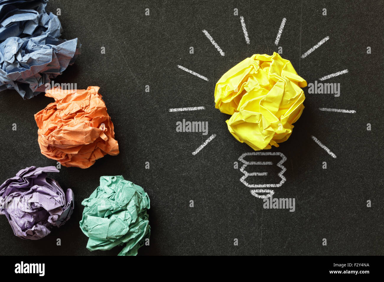 Good idea - Stock Image