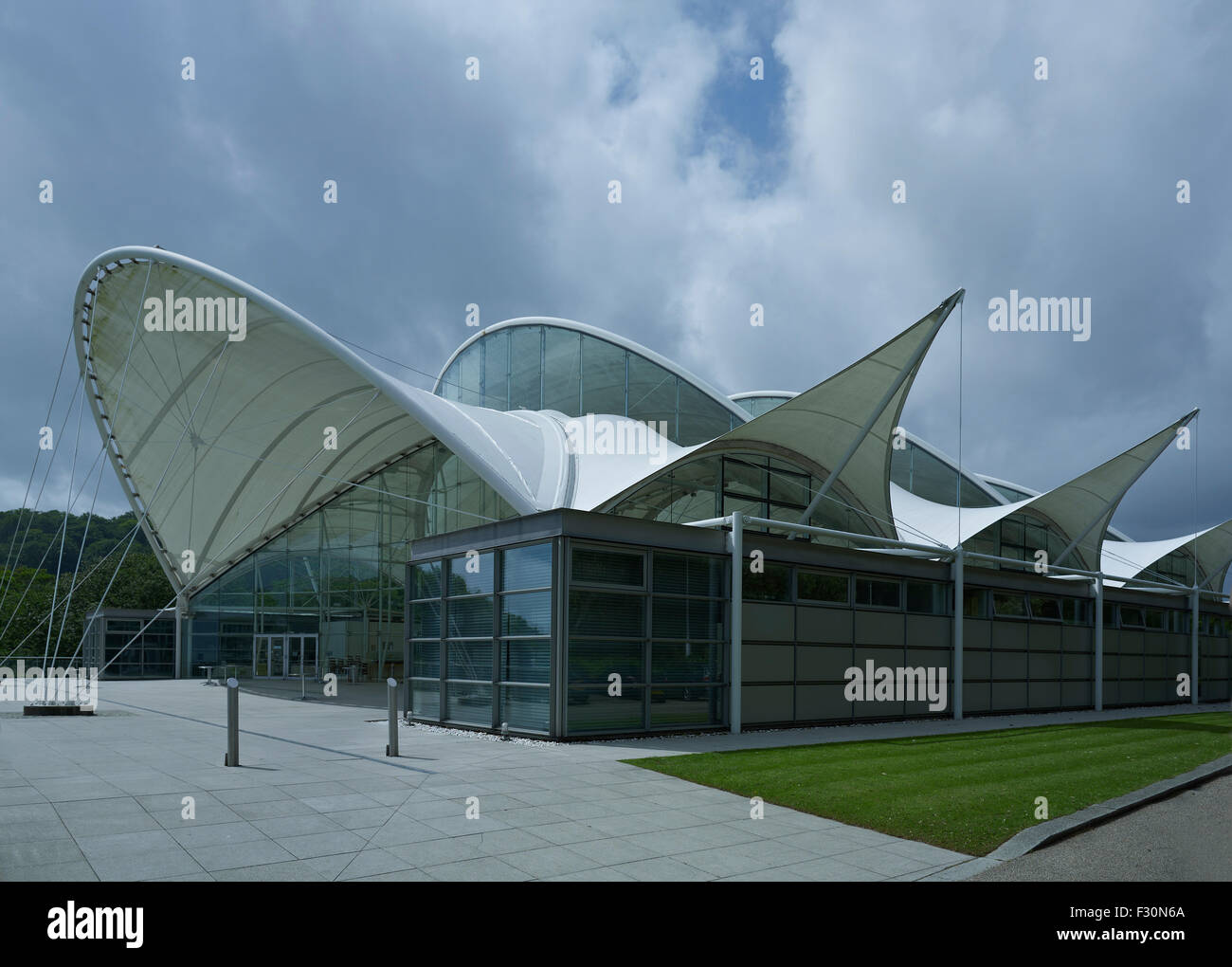 Sandgate, Saga Headquarters, Kent. The Pavilion - Stock Image