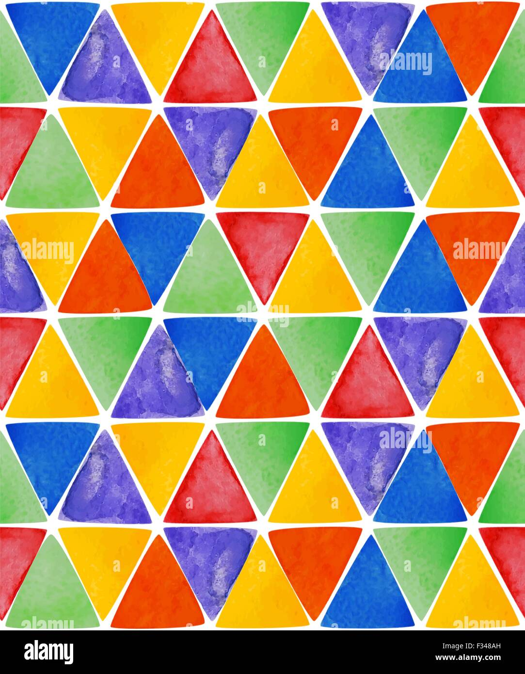 watercolor triangles seamless pattern seamless pattern geometry