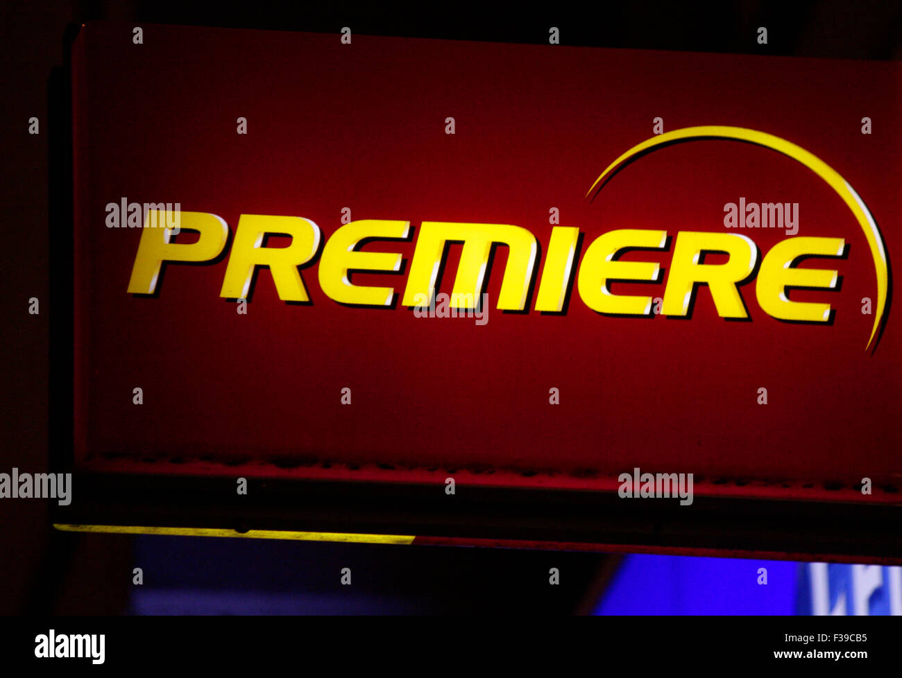 Markenname: 'Premiere', Berlin. - Stock Image