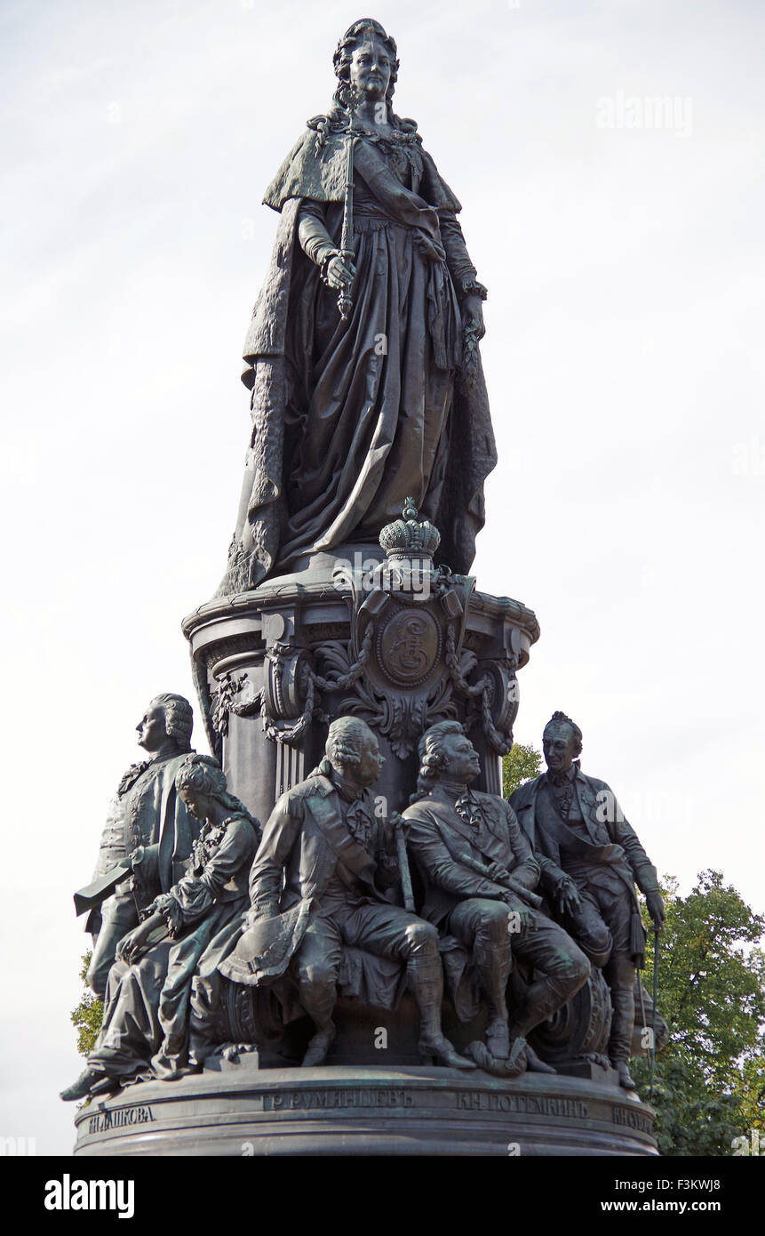 Monument to Catherine the Great in St. Petersburg: description, photo 16