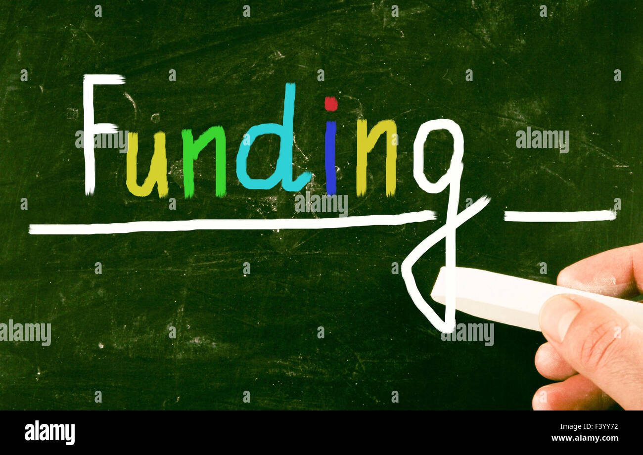 funding concept - Stock Image