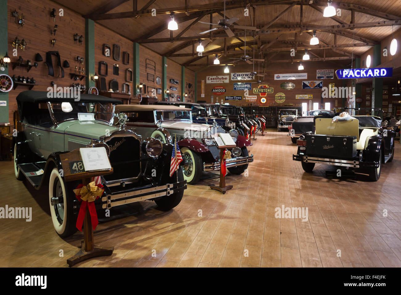 USA, Florida, Fort Lauderdale, Antique Car Museum, specializing in ...