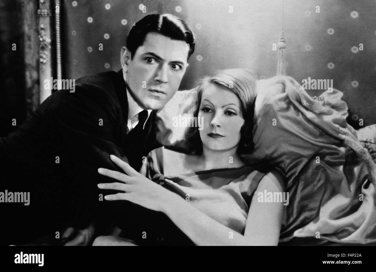 Greta Garbo, John Mack Brown / A Woman Of Affairs 1928 directed by Clarence Brown - Stock Image