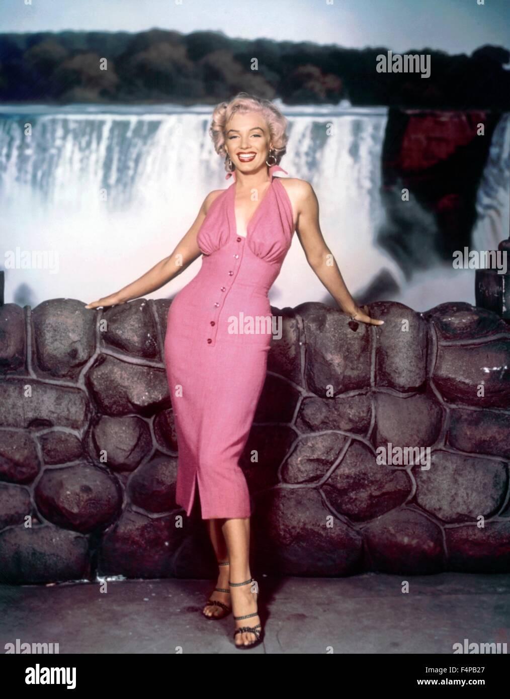 Marilyn Monroe / Niagara 1953 directed by Henry Hathaway - Stock Image