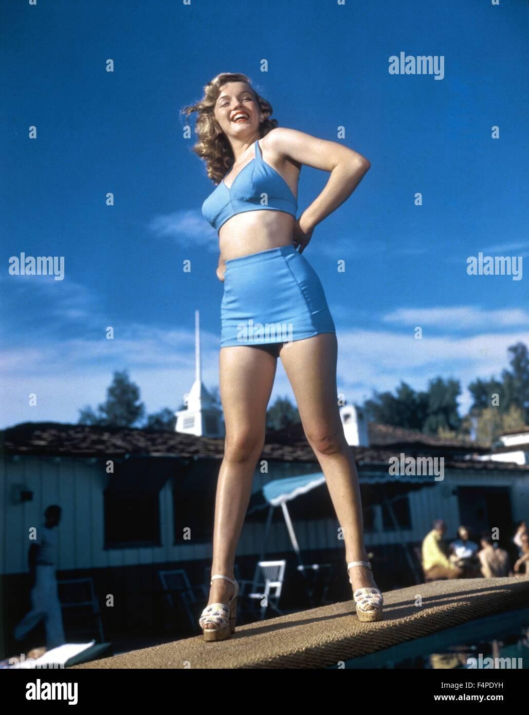 Marilyn Monroe in 1948/49 - Stock Image