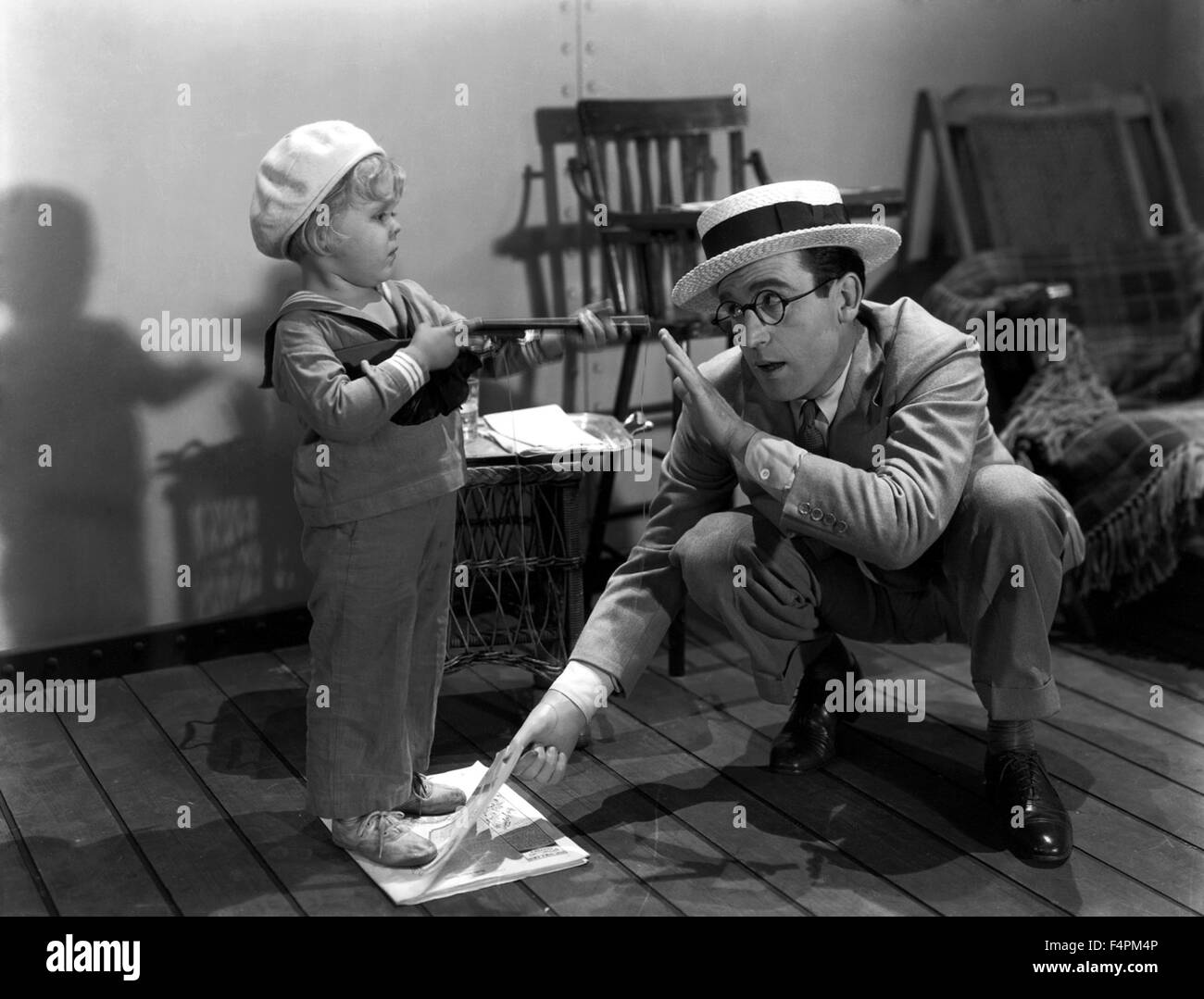 Harold Lloyd / eet First / 1930 directed by Clyde Bruckman [Paramount Pictures] - Stock Image