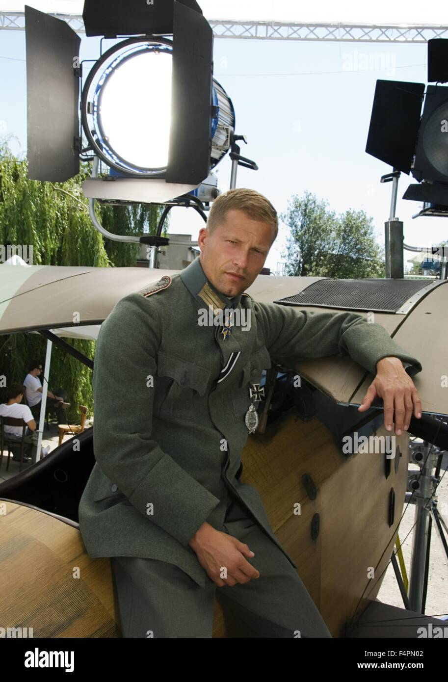 Til Schweiger / The Red Baron / 2008 directed by Nikolai Müllerschön  [Niama Film] - Stock Image
