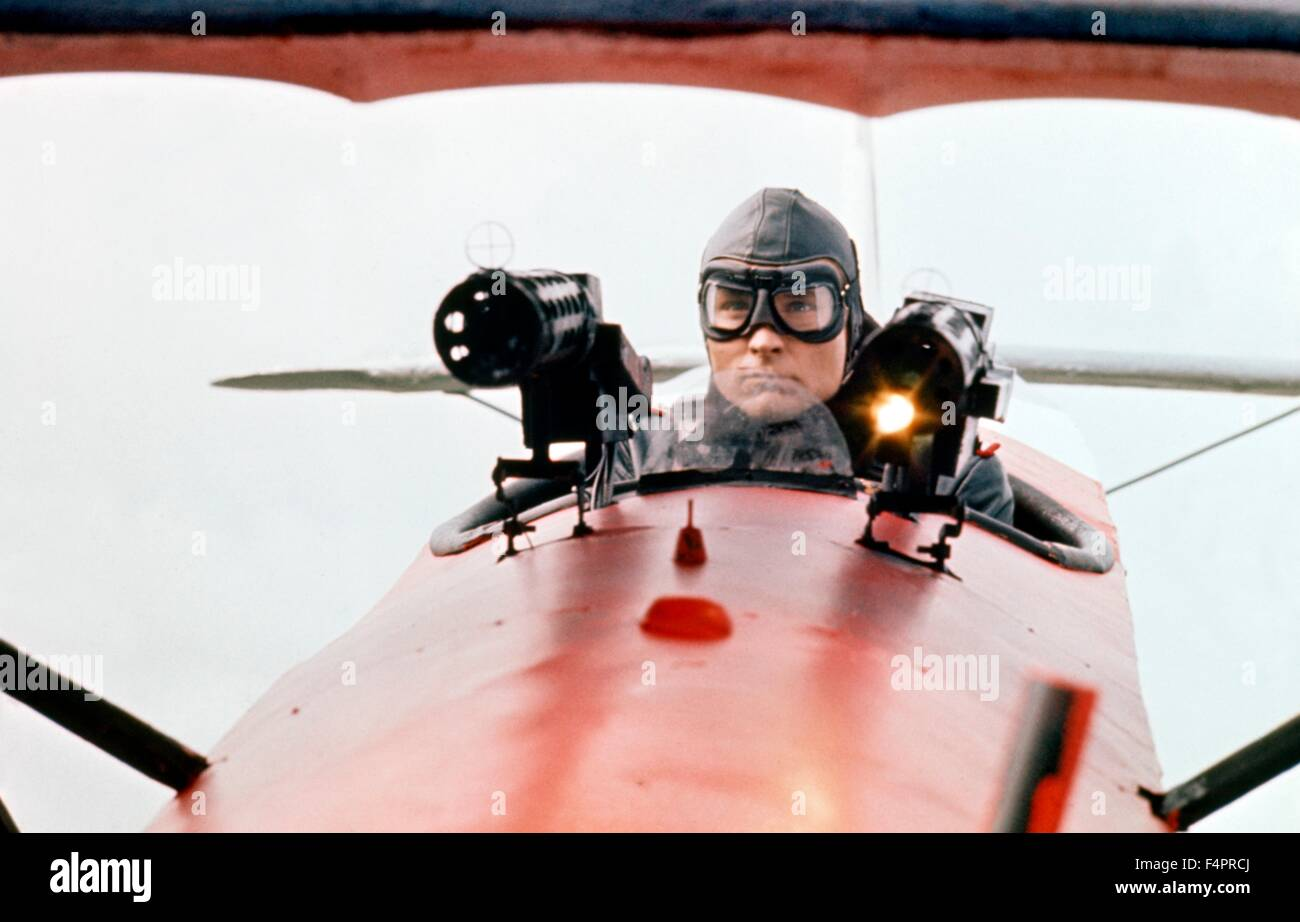 John Phillip Law / The Red Baron / 1971 directed by Roger Corman [The Corman company] - Stock Image