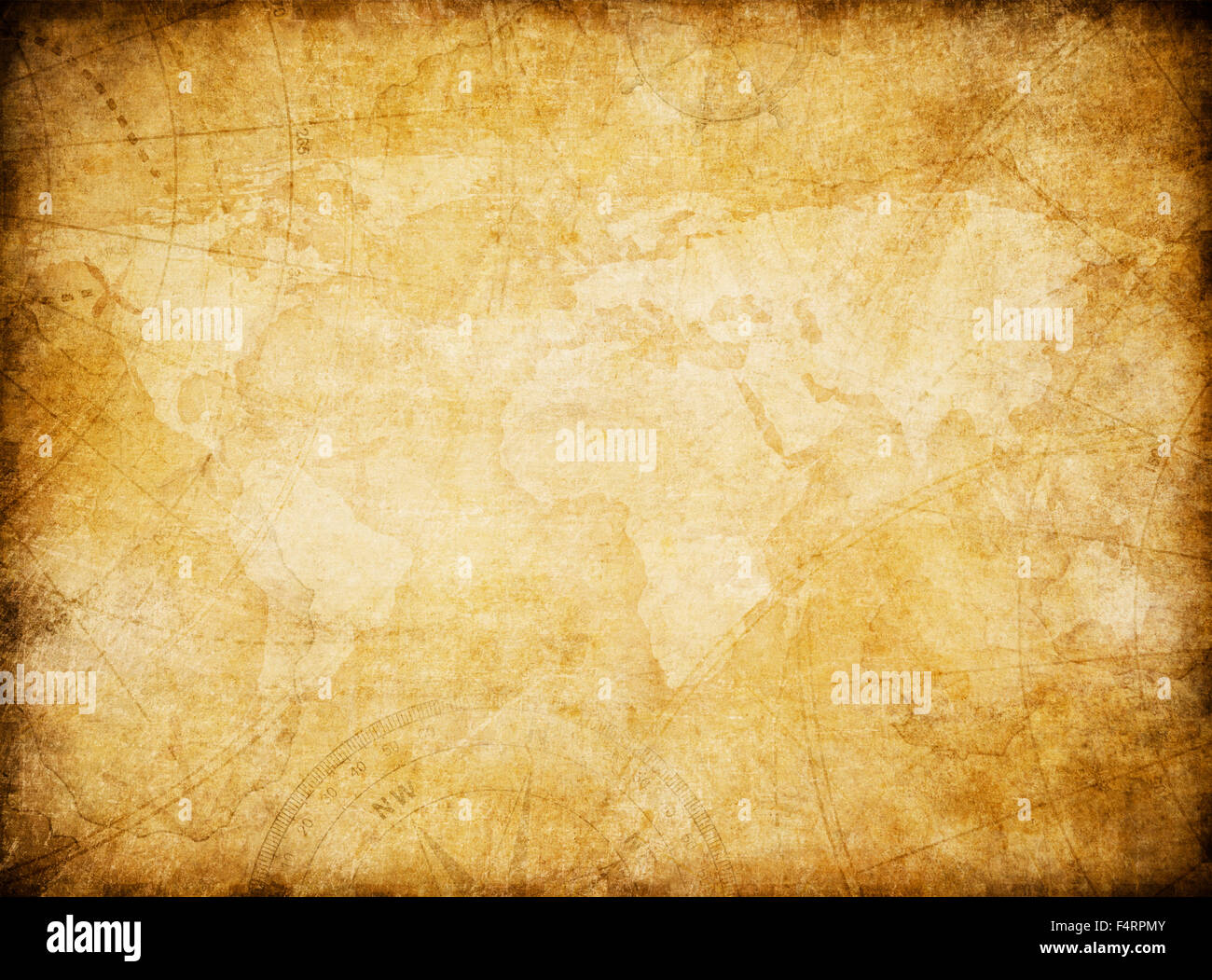 Vintage world map stock photos vintage world map stock images alamy vintage world map background stylization stock image gumiabroncs Gallery
