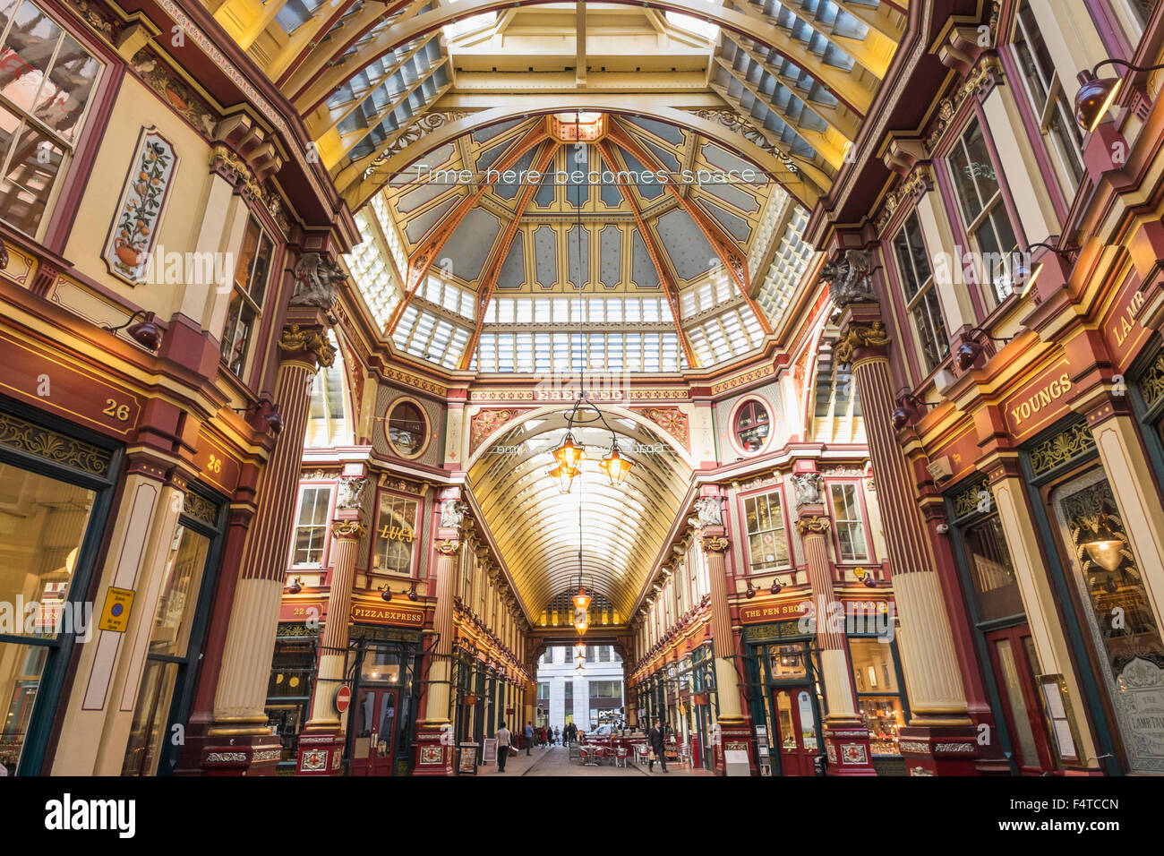 England, London, City, Leadenhall Market - Stock Image