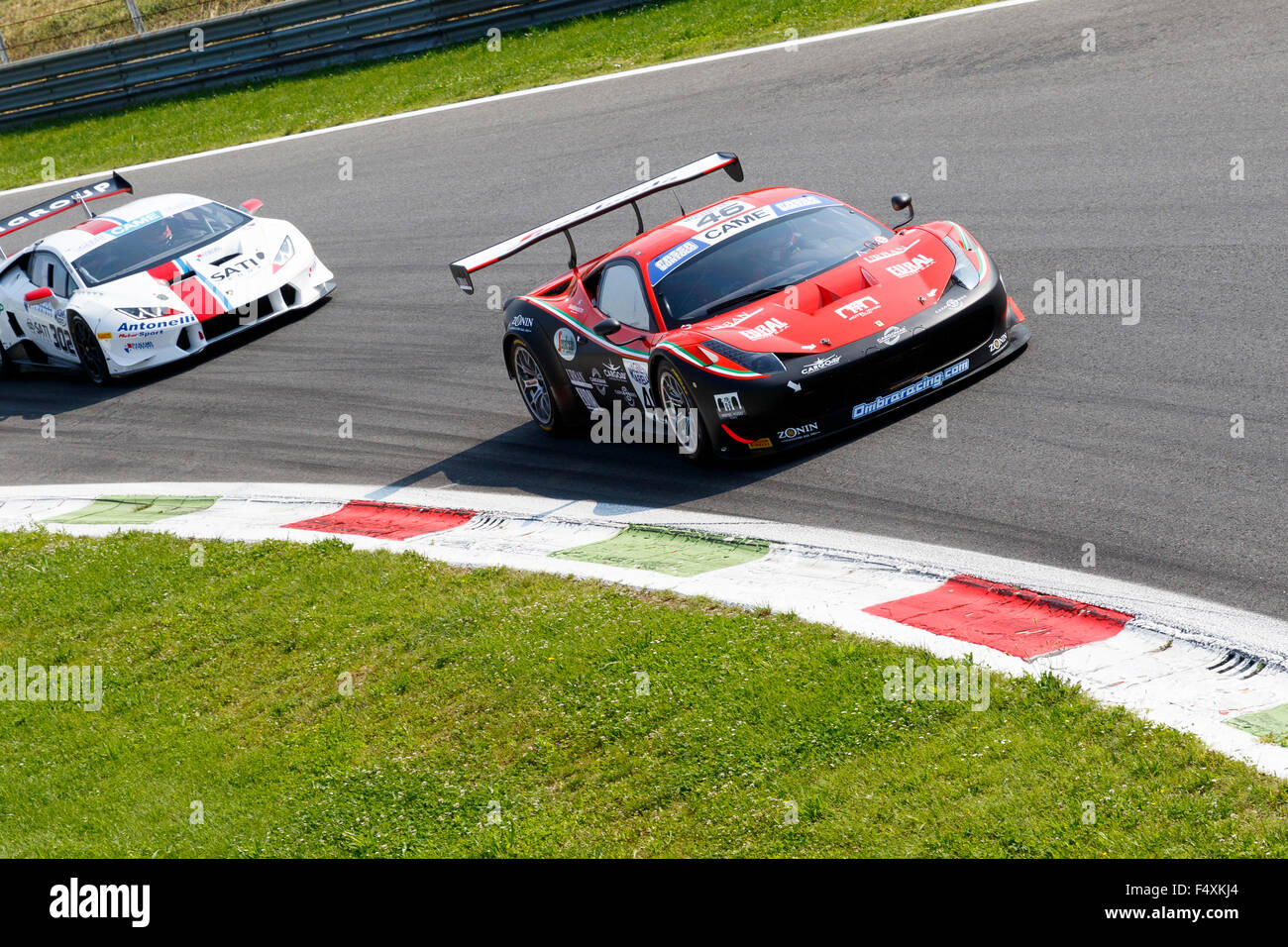 Circuit Monza Italia : Monza italy may ferrari italia of ombra srl team