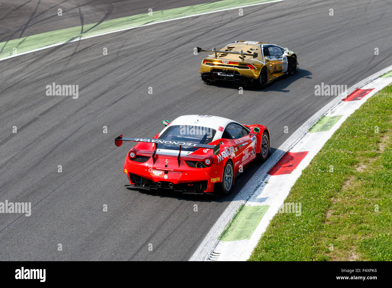 Circuit Monza Italia : Monza italy may ferrari italia of malucelli team