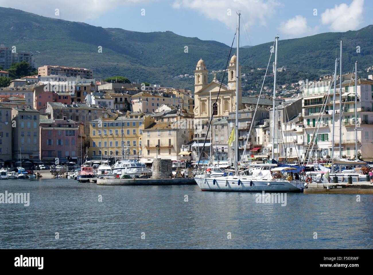 Old Port Bastia Corsica Stock Photo 89451195 Alamy