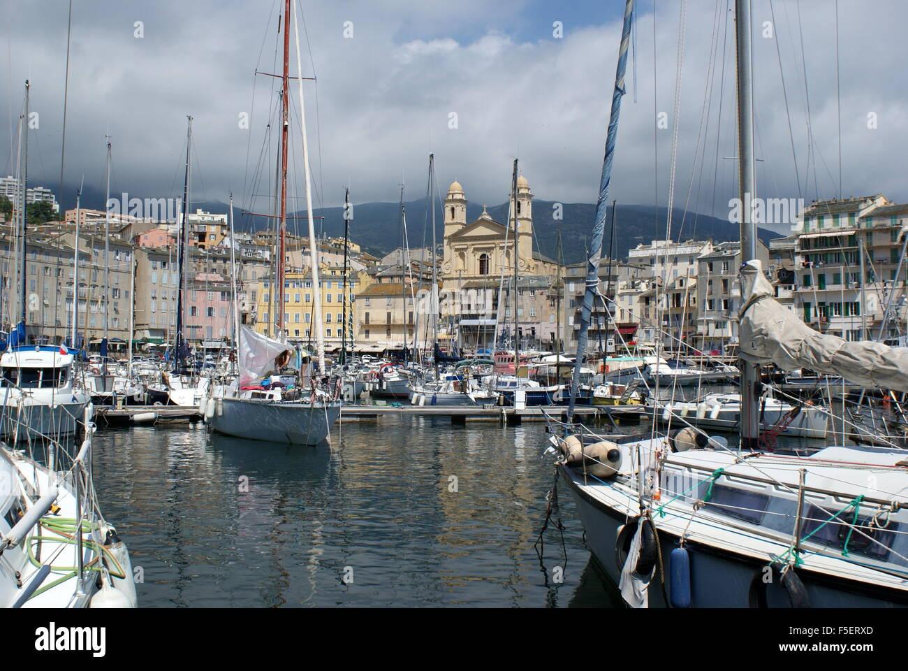 Old Port Bastia Corsica Stock Photo 89451221 Alamy