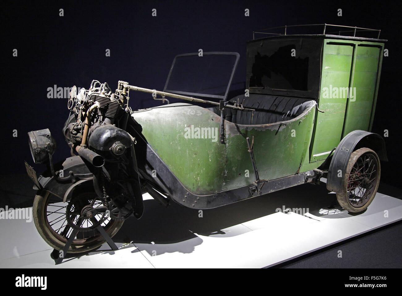 Vintage car Veteran car Phanomobil van 1912. 1.5 litre four cylinder ...